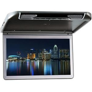 13.3 inch LCD HD Roof Mount Flip Down Monitor HDMI/USB/SD